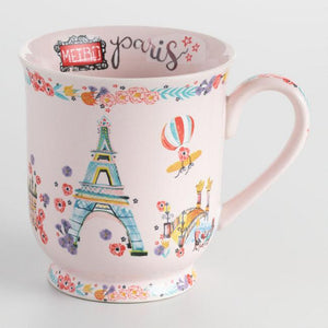 Paris World Traveler Mug