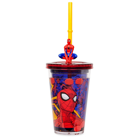 Spider-Man Tumbler with Straw