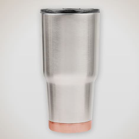 Insulated Stainless Steel Two‑Tone Tumbler