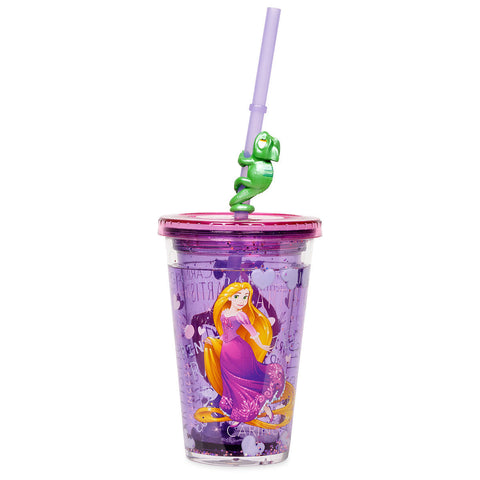 Rapunzel Tumbler with Straw