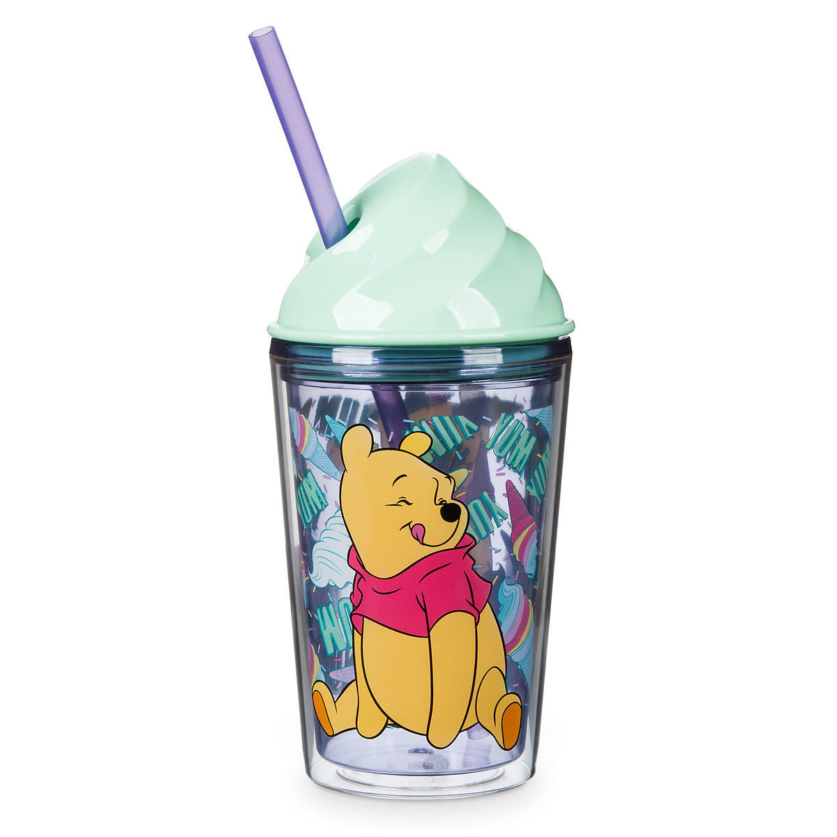 Winnie the Pooh Ice Cream Dome Tumbler with Straw