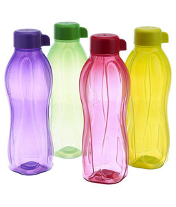 Water Bottle 1000 ml - Set of 4