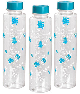 Fridge Bottle 1000 Ml Set Of 3Pcs Light Blue