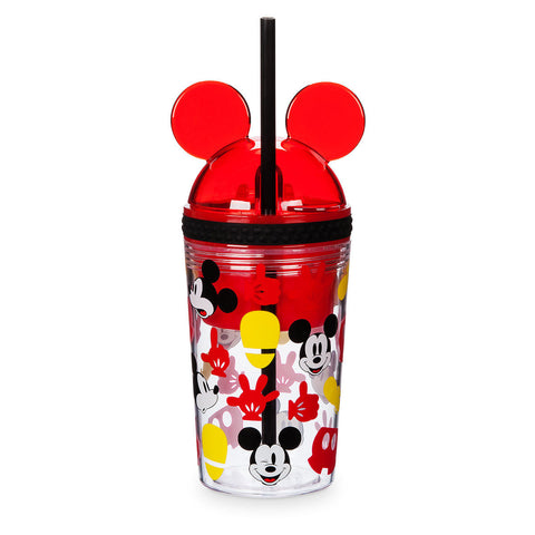Mickey Mouse Tumbler with Snack Cup and Straw - Disney Eats