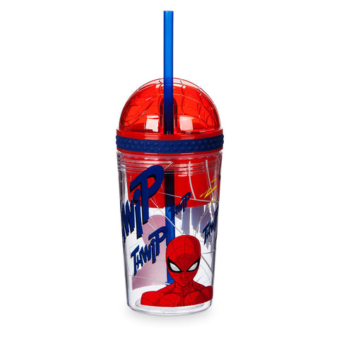 Spider-Man Tumbler with Snack Cup and Straw - Disney Eats