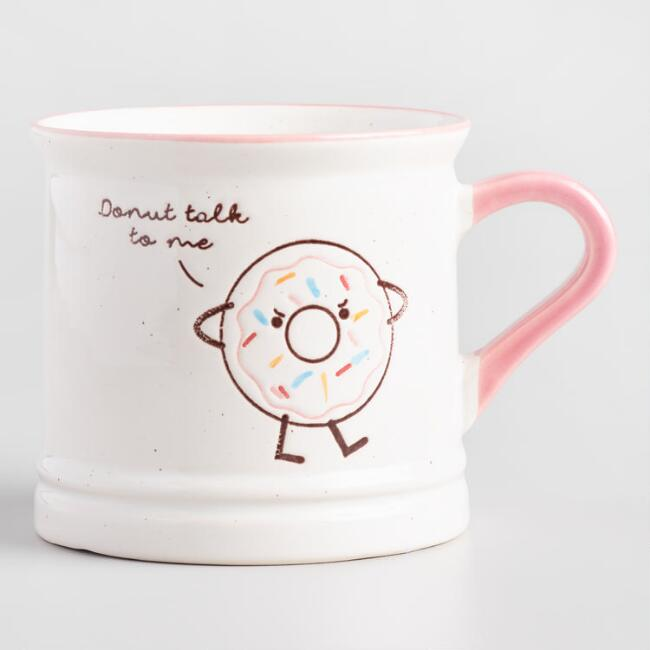 Donut Talk To Me Mug
