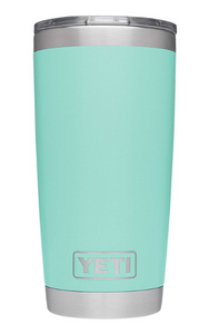YETI Rambler Seafoam Travel BPA Free 20 oz. Insulated Tumbler Stainless Steel