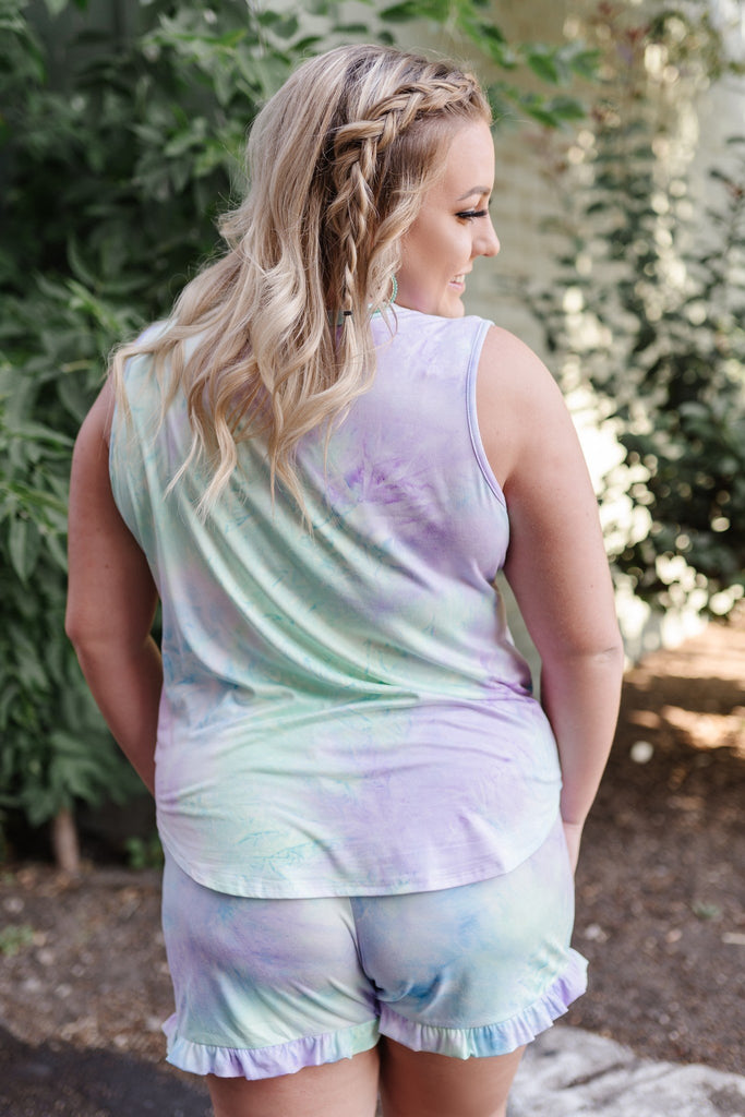 Pixie Dust Tie Dye Top