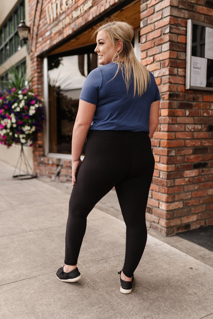 Everybody's Favorite Leggings In Black