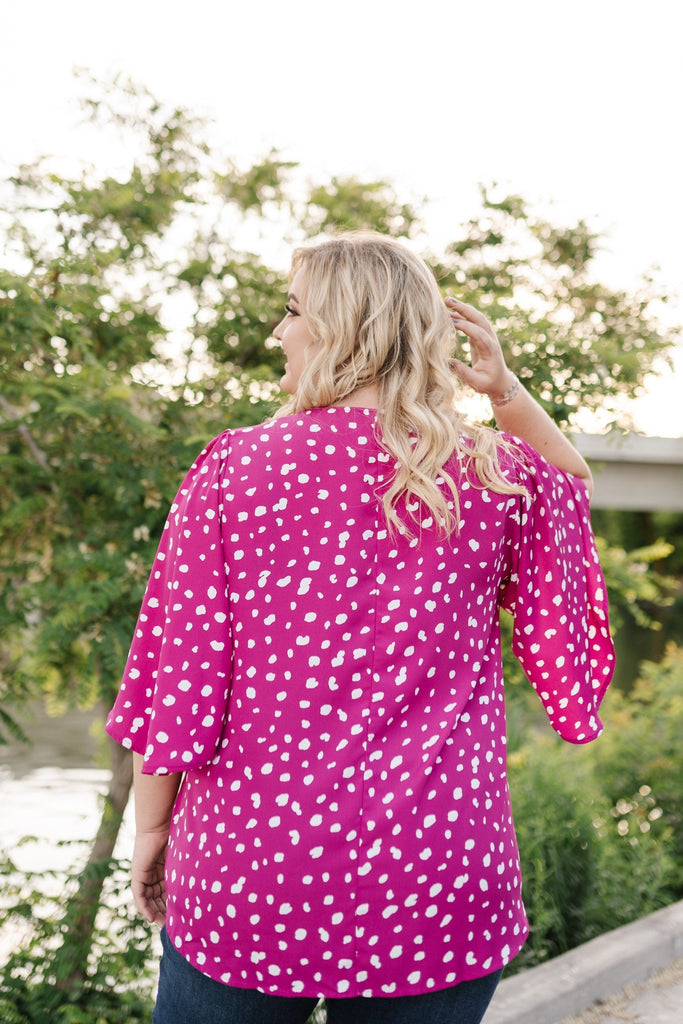 Magenta Magic Blouse