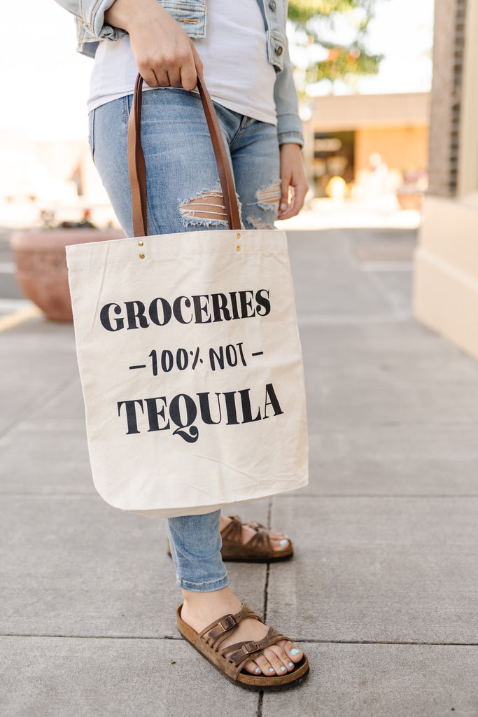 Tequila Canvas Bag