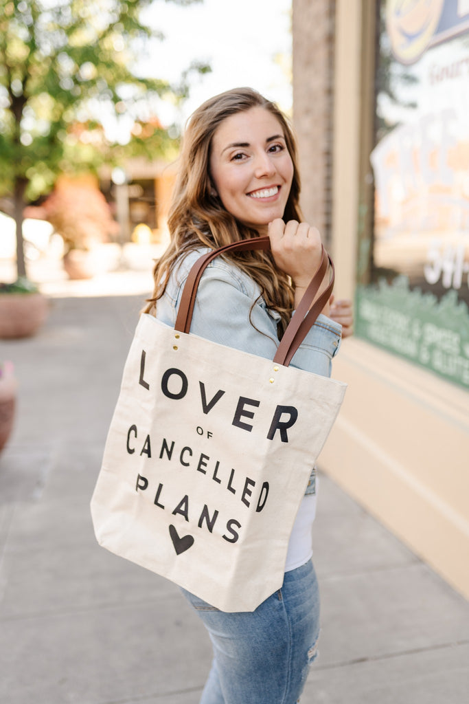 Cancelled Plans Canvas Bag