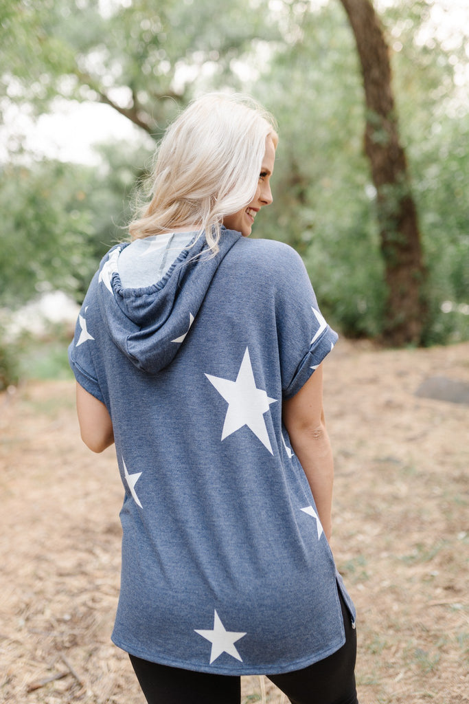 Wish Upon A Star Hooded Tunic