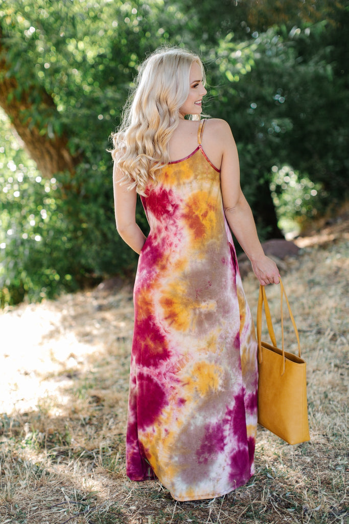 Falling For Autumn Maxi Dress