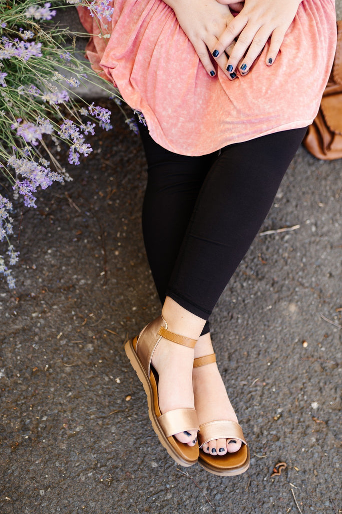 Starling Rose Gold Sandals