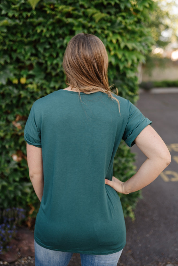 Rainforest Green Tee