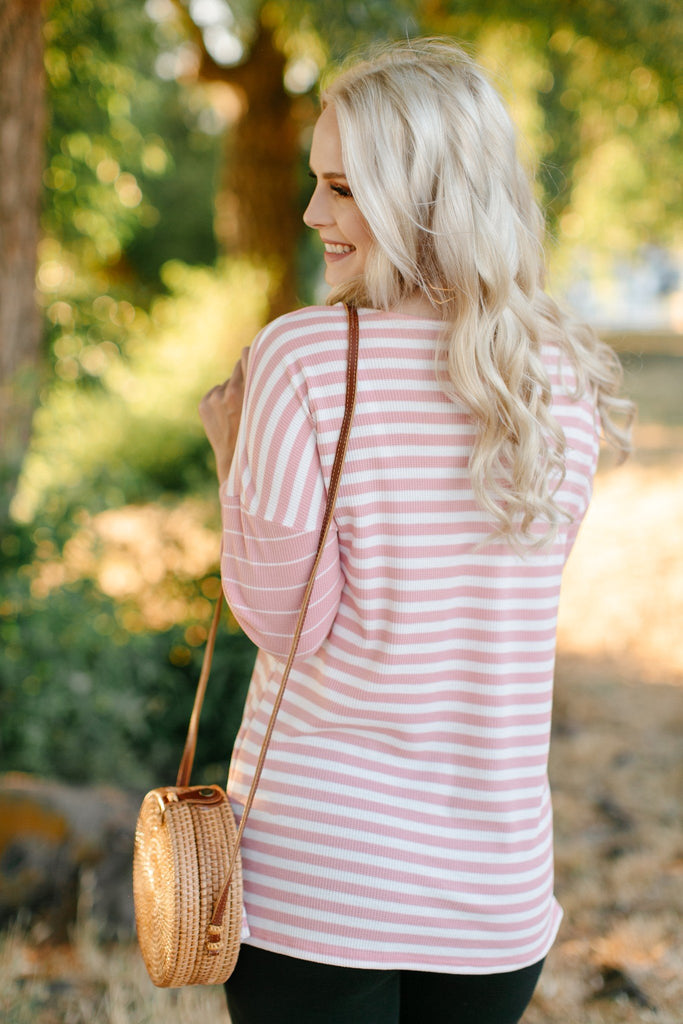 My Type Of Stripe Top