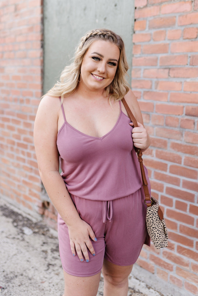 Mainstream-Mauve Romper