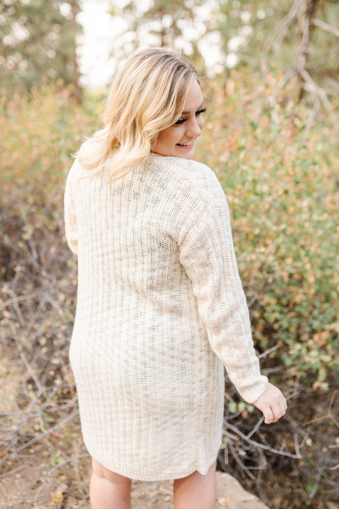 A Little Slice Of Heaven Ivory Cardigan