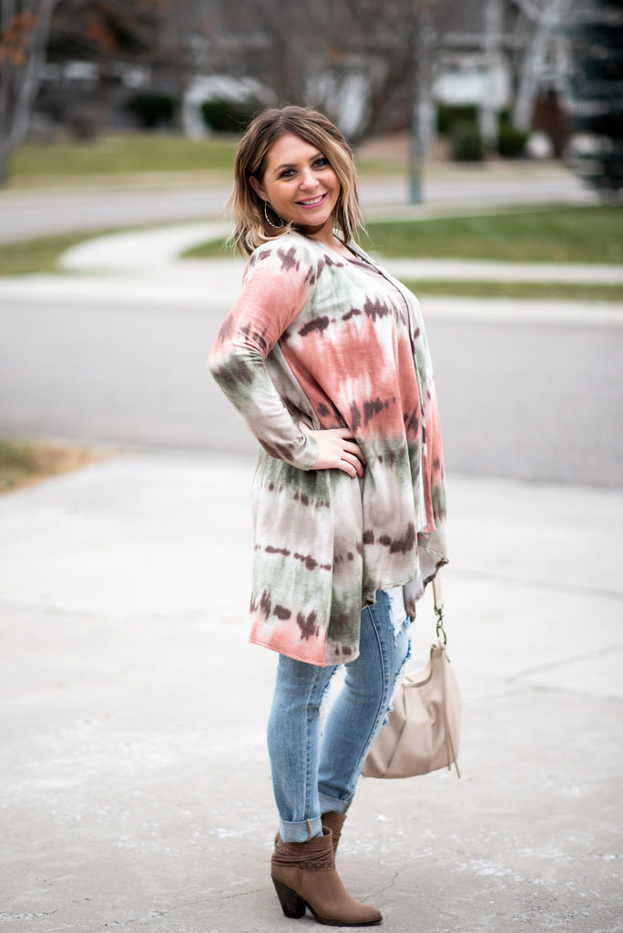 Best Wishes In Ombre' Cardigan