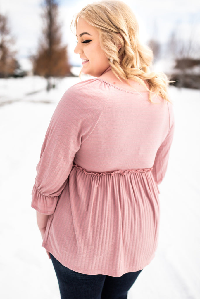 Rules Of Engagement Top In Mauve