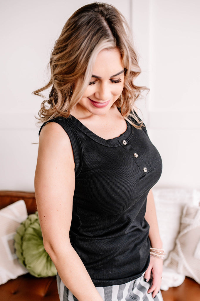 Forever Your Girl Silver Striped Burgundy Top