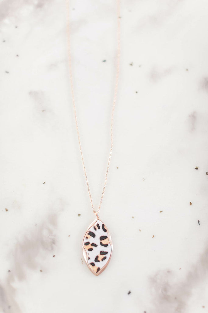 We Love This For Us Leopard Necklace