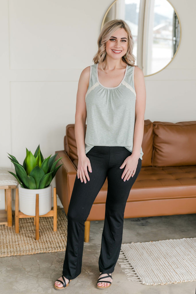 Sage and Sound Sleeveless Top