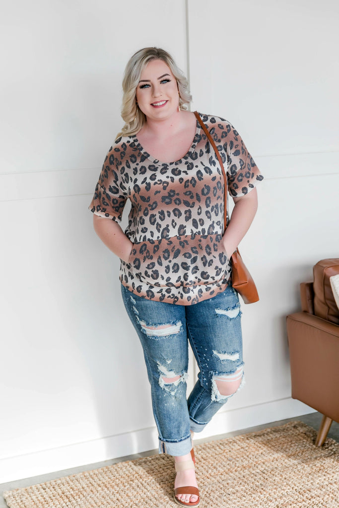 The Animal In Me Leopard Top