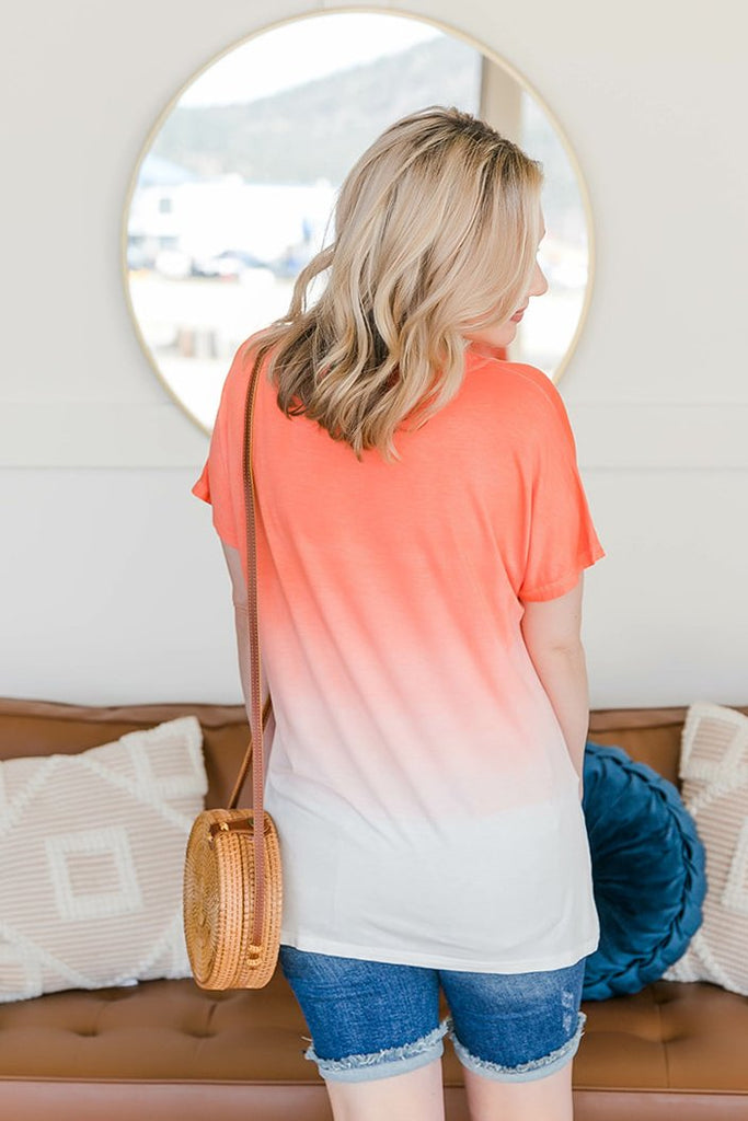 Summer Sunset Top
