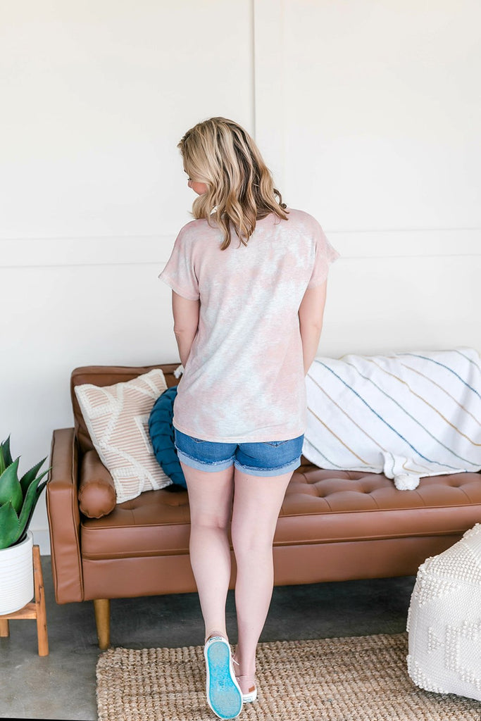 In The Pocket Blush Tie Dye