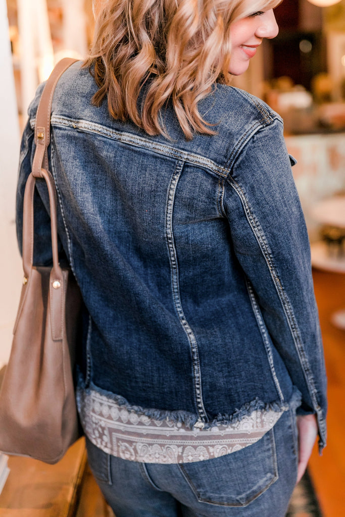 Best Friends For Life Denim Jacket