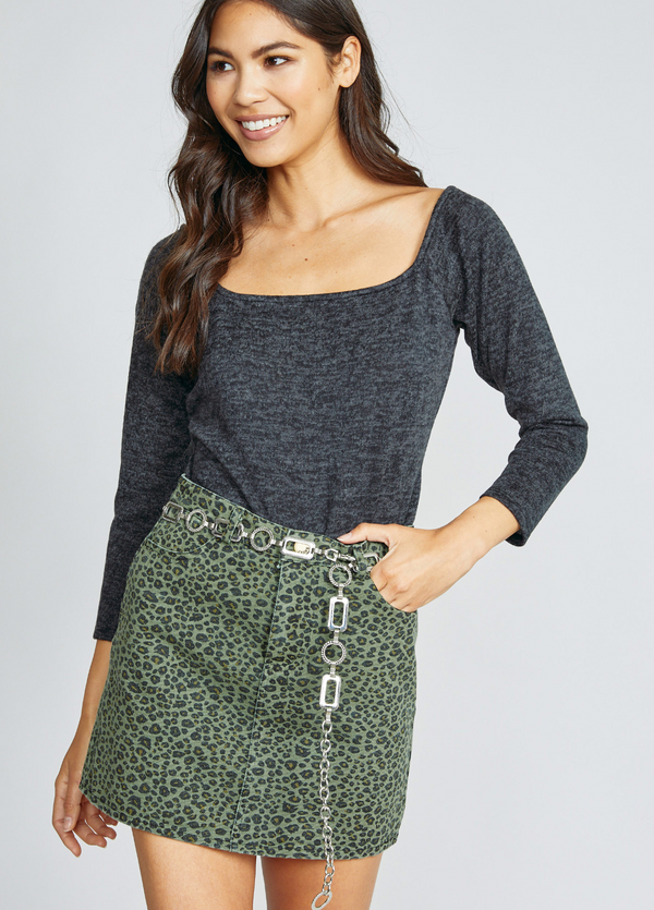 On the Prowl Cheetah Skirt
