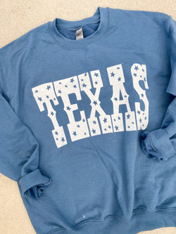 Texas Blues Crewneck