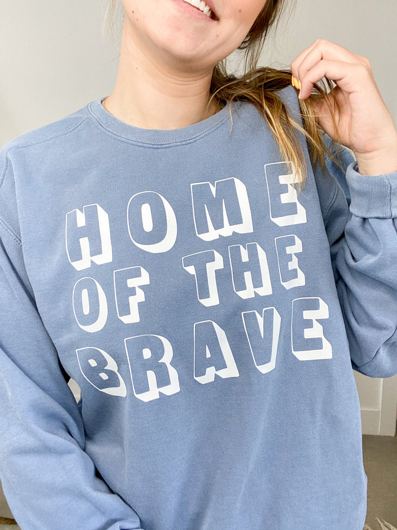 Home Of The Brave Crewneck