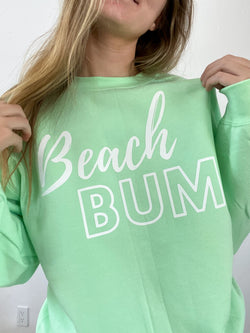 Neon Beach Bum Crewneck