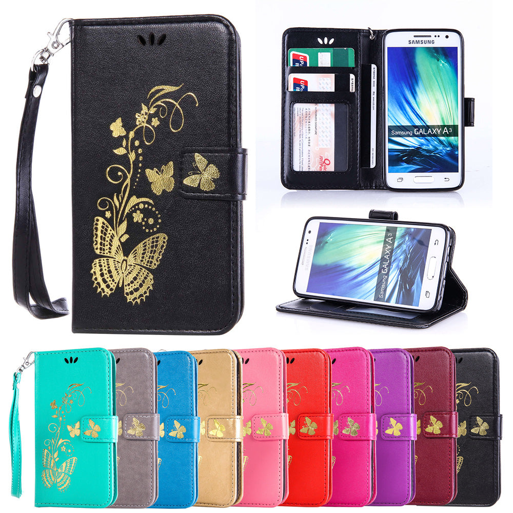 quality design 3987c 536a5 Flip Case for Samsung Galaxy A3 2015 A 3 300 A300 A300F A300FU A300H/DS  SM-A300H/DS SM-A300F SM-A300FU Case Phone Leather Cover