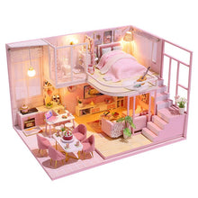 Load image into Gallery viewer, Mini DIY Dollhouse Wooden
