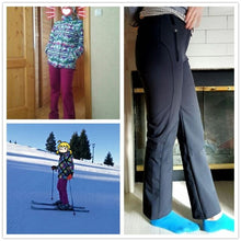 Load image into Gallery viewer, Thick Warm Fleece Softshell Pants
