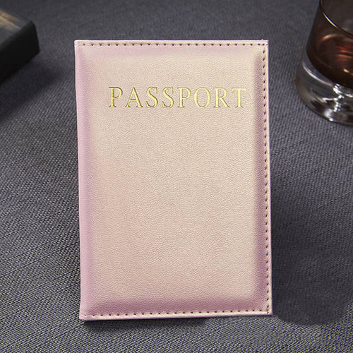 Men Women Passport wallet Case - foldingup