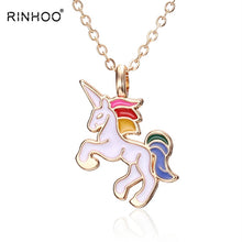 Load image into Gallery viewer, HORSE Pendant Necklace - foldingup