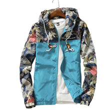 Load image into Gallery viewer, Floral Hooded Jackets