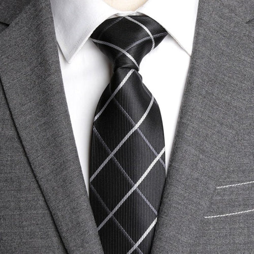 Men Formal Tie - foldingup