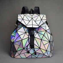 Load image into Gallery viewer, Reflective Drawstring Backpacks
