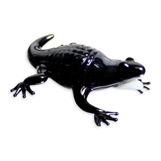 LookingGlass Al The Alligator Collectible Glass Miniature Figurine