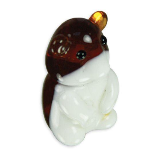LookingGlass Hannah The Hamster Collectible Glass Miniature Figurine