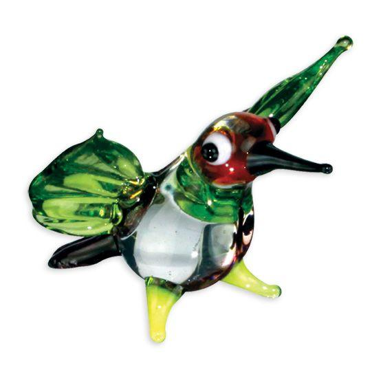 LookingGlass Blurr The Hummingbird Collectible Glass Miniature Figurine