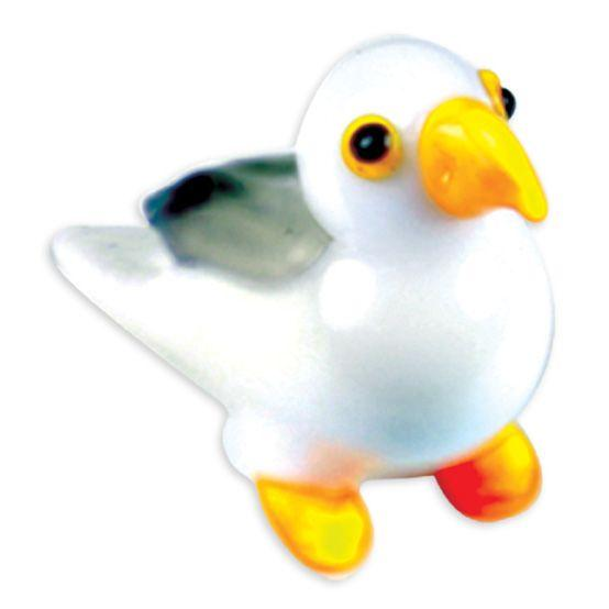 LookingGlass Suzi The Seagull Collectible Glass Miniature Figurine