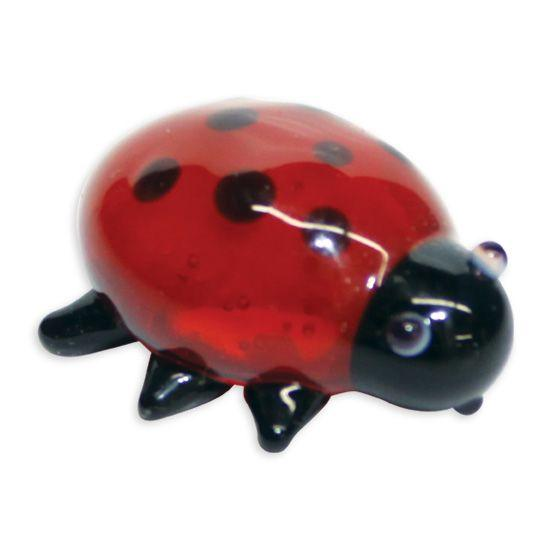 LookingGlass Dotty The Ladybug Collectible Glass Miniature Figurine