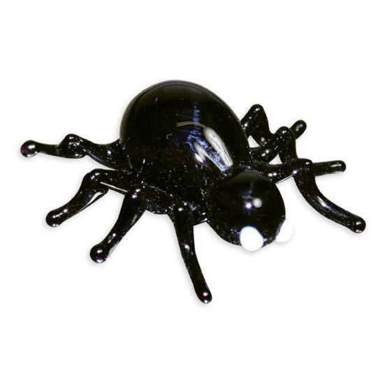 LookingGlass Venom The Black Widow Spider Collectible Glass Miniature Figurine
